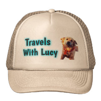 Travels With Lucy hat