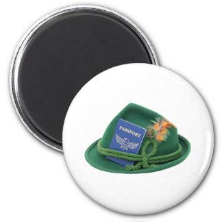 TravelsAbroad053109 Refrigerator Magnet