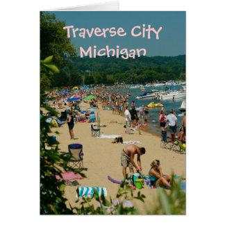 Traverse City Beach Card