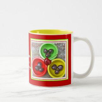 Traverse City Cherries mug