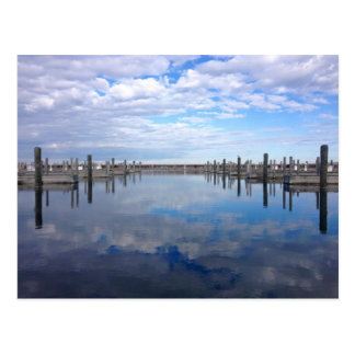 Traverse City Clinch Park Marina Postcard