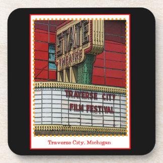 Traverse City Film Festival Beverage Coaster
