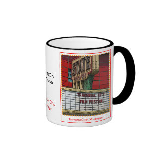 Traverse City Film Festival Ringer Coffee Mug