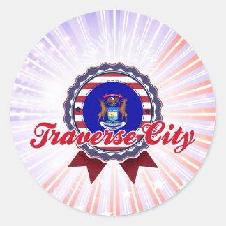 Traverse City, MI Stickers