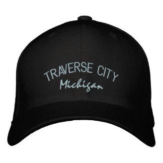 Traverse City Michigan Embroidered Hat
