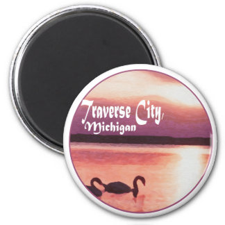 Traverse City, Michigan Fridge Magnet