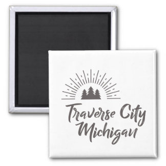 TRAVERSE CITY MICHIGAN MAGNET
