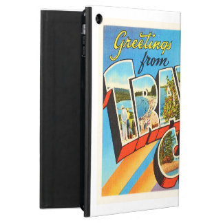Traverse City Michigan MI Vintage Travel Souvenir iPad Air Cases
