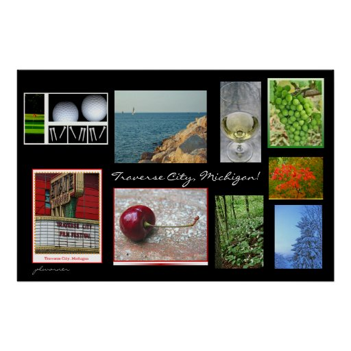 Traverse City Michigan Poster