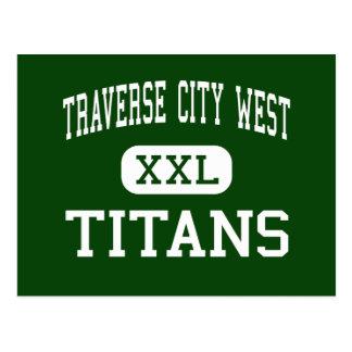 Traverse City West - Titans - Traverse City Postcard