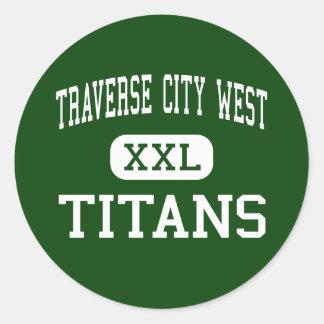 Traverse City West - Titans - Traverse City Sticker