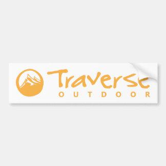 Traverse Outdoor Bumper Sticker Car Bumper Sticker