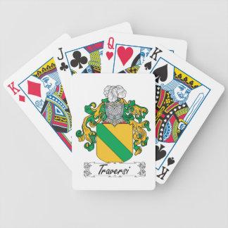 Traversi Family Crest Poker Deck