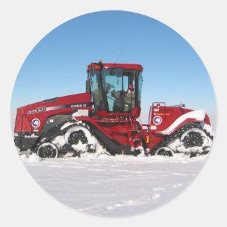 Traversing Arctic Tractor Stickers