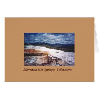 Travertine Terrace Card