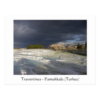 Travertines - Pamukkale (Turkey) Postcard