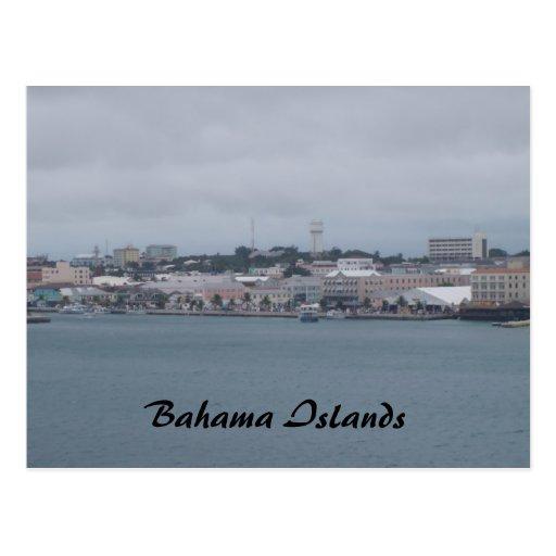 travesía 153, islas de Bahama Postal
