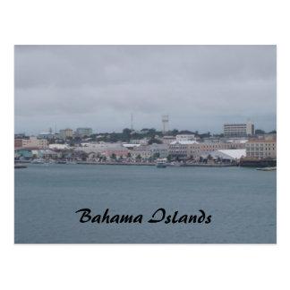 travesía 153, islas de Bahama Postales