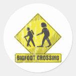 Travesía de Bigfoot Etiquetas