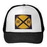 Travesía de ferrocarril gorras de camionero