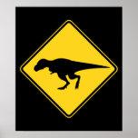 Travesía de T-Rex Póster