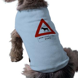 Travesía del burro (2), muestra, Antillas Camisas De Mascota