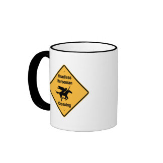 Travesía del jinete sin cabeza taza de café