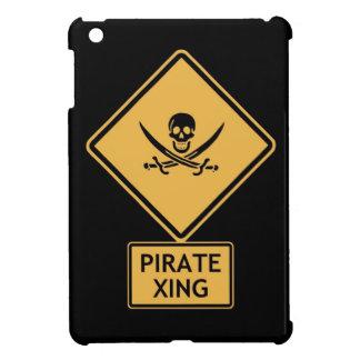 travesía del pirata iPad mini fundas