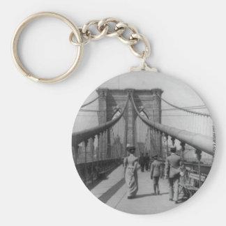 Travesía del puente de Brooklyn Llavero