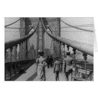Travesía del puente de Brooklyn Tarjetas