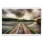 Travesía del puente - lago Tekapo Nueva Zelanda: T Felicitación