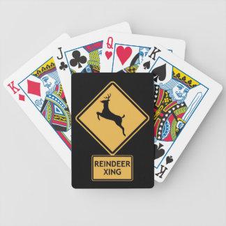 travesía del reno baraja de cartas