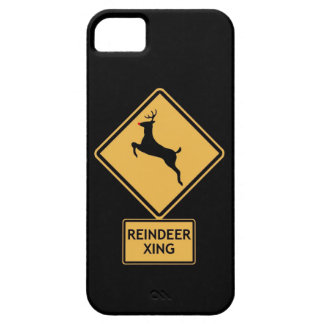 travesía del reno funda para iPhone 5 barely there