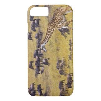 Travesía del río de Mara por las jirafas y Funda iPhone 7