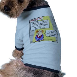 travesía del shakedown del punto de ebullición del camisetas mascota