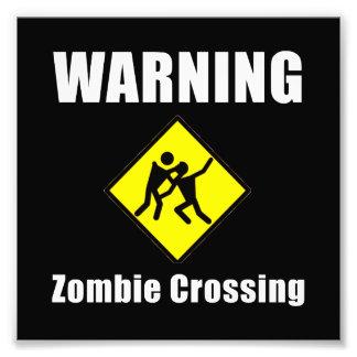 Travesía del zombi fotografías