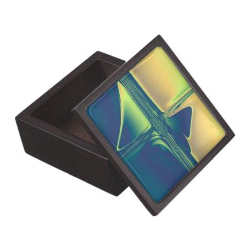 Travesías azules del oro del n caja de regalo de calidad