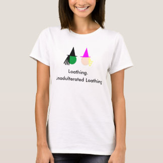 Travieso: Camiseta de repugnancia no adulterada
