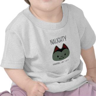Travieso - muchacho del palo de vampiro camisetas
