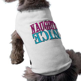 Travieso o Niza Camisetas De Mascota