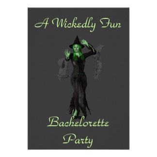 Travieso un fiesta de Bachelorette de la diversió Anuncio Personalizado