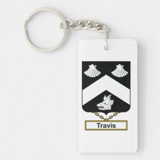Travis Family Crest Keychain