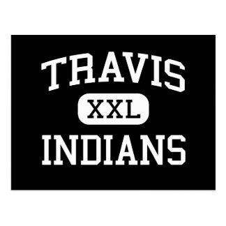 Travis - indios - joven - Quanah Tejas Tarjeta Postal