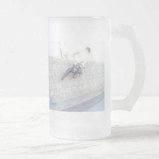 Travis Mason Mug/Youngguns Bmx Frosted Glass Beer Mug