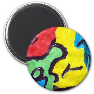 Travis Murphy 2 Inch Round Magnet