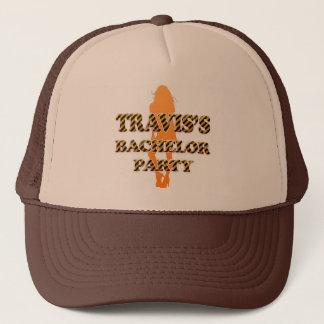 Travis's Bachelor Party Trucker Hat