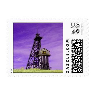 Travona Head Frame - Butte, MT Stamp