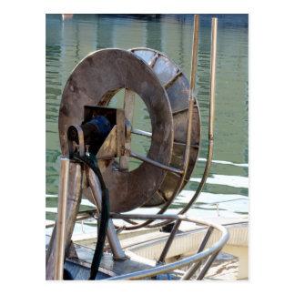 Trawl winch postcard