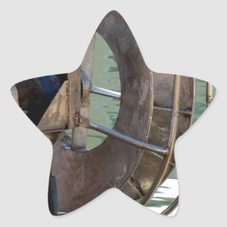 Trawl winch star sticker