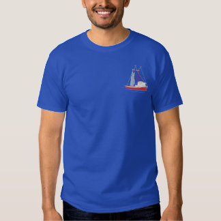 Trawler Embroidered T-Shirt